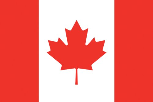 Unbekannt 1,5m x 0,9m Flagge–Canada