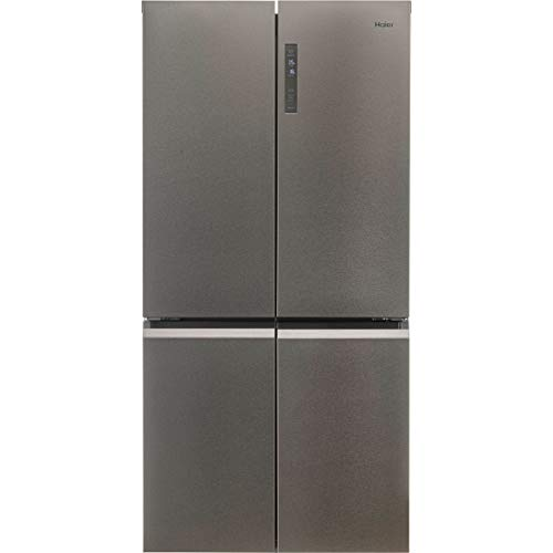 Haier 500 Litre American Fridge Freezer - Stainless steel -href-