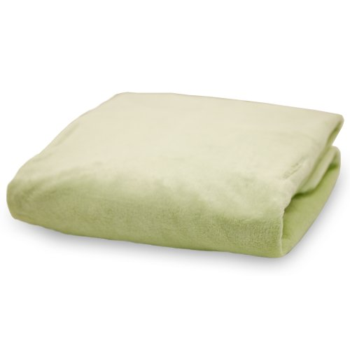 Rumble Tuff Silky Minky Changing Pad Cover, Sage,Standard
