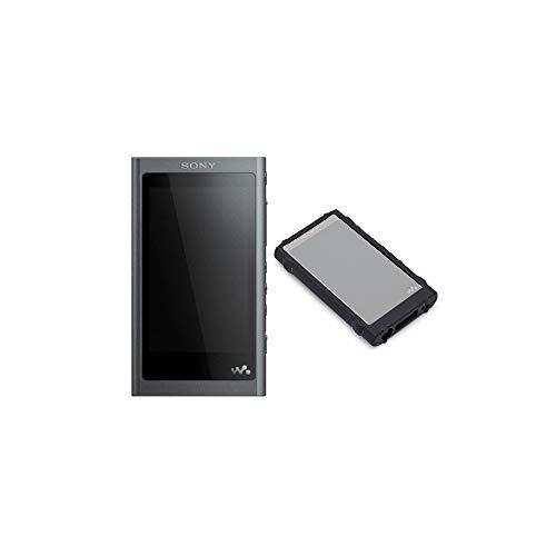 Sony NW-A55 Walkman Hi-Res tragbarer digitaler Musik-Player (16 GB, Schwarz, mit Knox Gear Rugged Hartschalenkoffer)