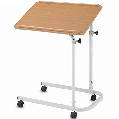 23.6 Zoll tragbare Workstation Krankenhausbetttisch für den Heimgebrauch Bettabletttische zum Essen und Laptops Bettlägerige ältere ältere Patientenhilfe