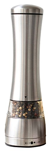 FWQPRA Eco-Friendly Stainless Steel Pepper Mill Salt Grinder Silver Cooking Tools Kitchen Gadgets
