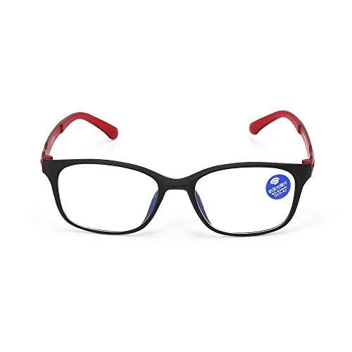 YSDD leesbril UV400 anti-spaakbril blauw ultralichte flexibele TR90 computerbril bescherming tegen vermoeidheid