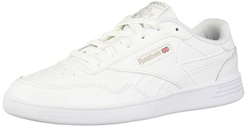 Reebok Women's Club MEMT Sneaker, Steel/White, 9