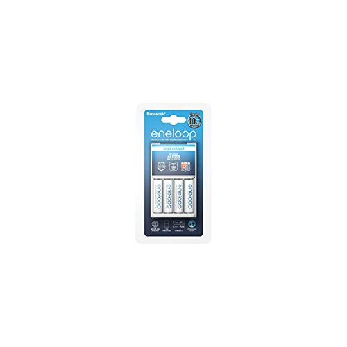 Panasonic Eneloop 72110018 Basic Charger + 1x4 AA Batteries