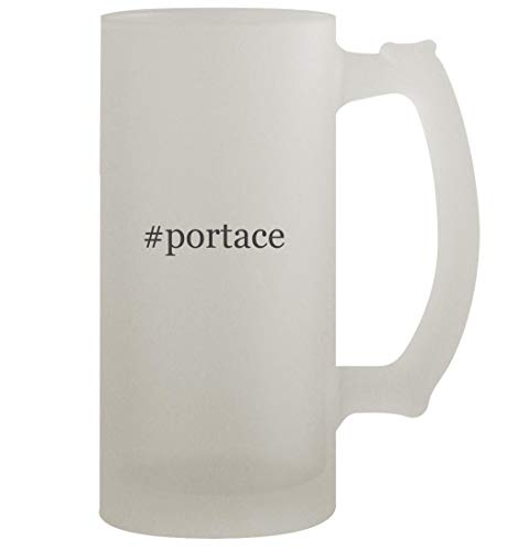 #portace - 16oz Frosted Beer Stein, Frosted