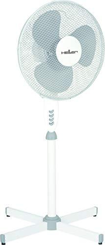 Heller Ventilator STV 406 Standventilator, oszillierend Ø40cm Grau/weiß