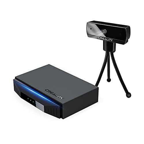 Zwbfu Monitor De Impresora 3D,Monitor de impresora 3D Smart WiFi Box con cámara HD 1080P Control remoto Asistente inteligente para impresoras 3D Cloud Slice Cloud Print Monitor en tiempo