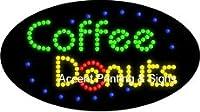 Coffee Donuts Flashing &アニメーションLEDサイン( High Impact、エネルギー効率的な)