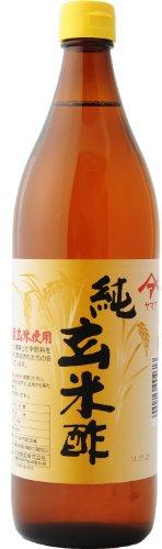 純玄米酢(900ml瓶) 無農薬 契約栽培 無添加