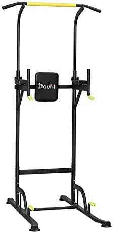 Doufit Power Tower Exercise Equipment PT 01 Adjustable Power Tower Dip Station with Pull Up product image