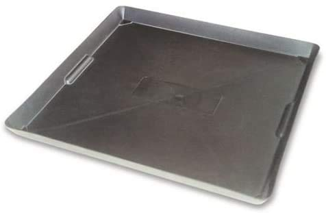"""SKEMIX Heavy Duty 22"""" x22 Drip Oil/Fuel/Chemical Drum Tray Pan Spill Containment"""