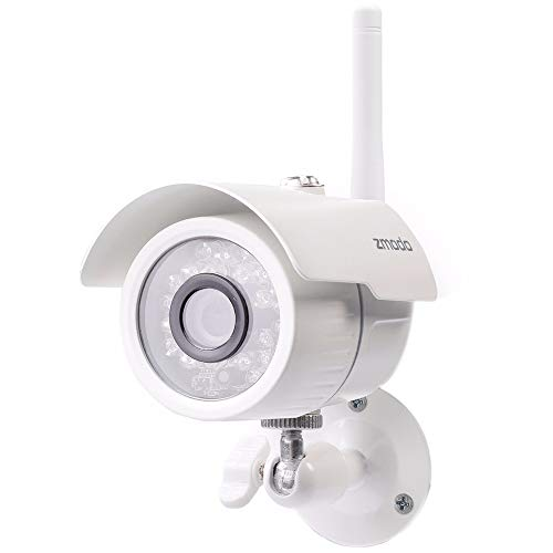 Zmodo 720p HD Wireless WiFi Indoor/Outdoor Home Security Camera with...