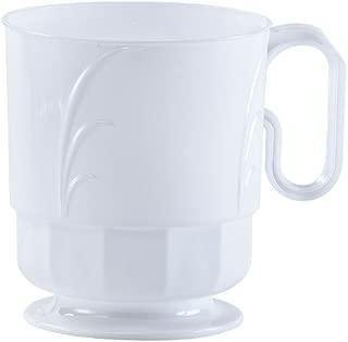 Lillian Tablesettings 40 Count Elegance Coffee Mug, 8 oz, Pearl