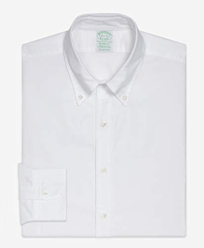 ブルックスブラザーズ『スーピマコットン オックスフォード ポロボタンダウン ドレスシャツ』