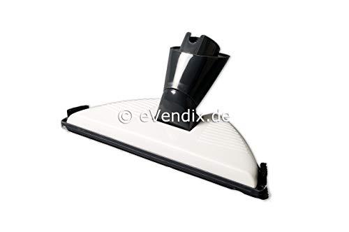 Laminaatsproeier/harde vloerzuigmond/vloerzuigmond wit/grijs voor laminaat en tegels geschikt voor Vorwerk Kobold VK 150, VK 200
