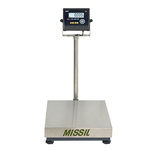 Báscula Industrial Gram mod. Missil F2-150 (150 kg x 20 g) plataforma de 50x40 cm
