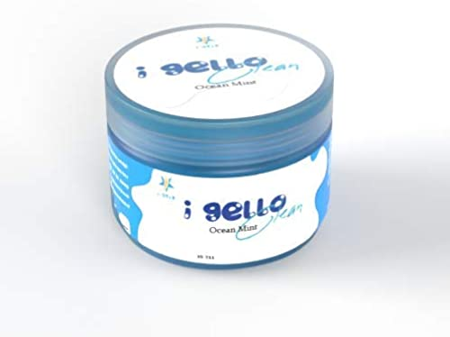 i STIX iGello Clean Universal Leaning Slime Gel for Laptop Car Accessories Electronic Products etc Ocean Mint