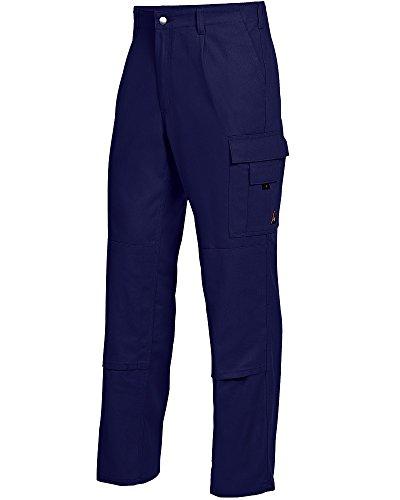 BP 1486-060-10-29 Arbeitshosen, mit elastischem Rückenteil, 300,00 g/m² Reine Baumwolle, dunkelblau ,29