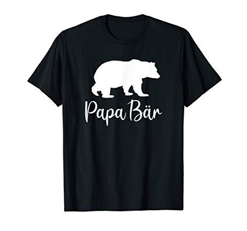 Herren Bester Papa Bär Vater Vatertag lustiges Geschenk Geburtstag T-Shirt