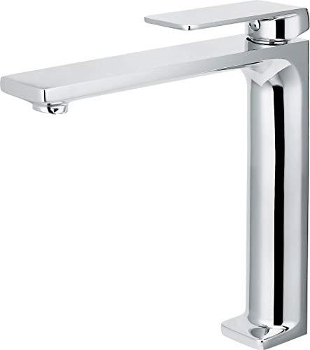 Grifo de lavabo caño alto Imex Fiyi BDF016-3