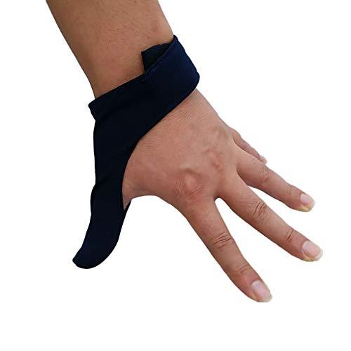 D DOLITY Bowling Thumb Saver Daumen Schutz Handschuh - Königsblau