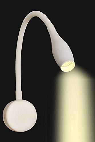 D'Mak Bakelite Flexible Hose LED Modern Wall Lamp (Warm White, 3 W, 3000 K)