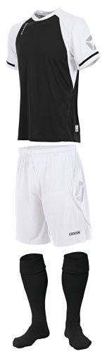 Stanno Trikot » LIGA «, schwarz/weiß Short Sleeve Fußball, Shirts, Shorts, Socken