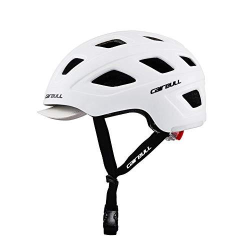 Compatible con Luces traseras Cascos de Bicicleta Mujeres Casco de Ciclismo Luz...