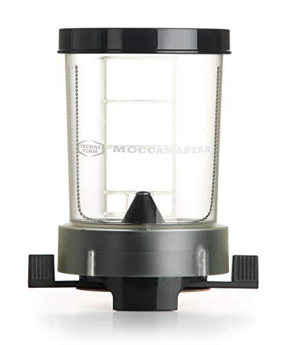 Moccamaster 49100 DOS Kaffeedosierer, Aluminium, Schwarz
