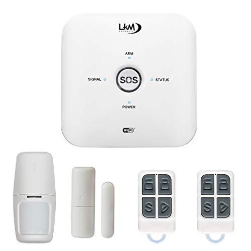 Alarma doméstica inalámbrica Mya, seguridad LKM, con GSM y wifi, compatible con...