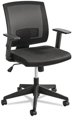 Safco Products Mezzo Task Chair, Black