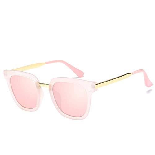 BOC Sonnenbrille-Sonnenbrille der Frauen-Runde Sonnenbrille Robust und Klappbrille-Sonnenschutz-Gläser UV-Schutz für den Außenbereich