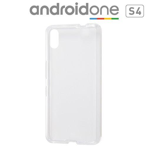 レイアウト Android One S4用ハイブリッドケース クリア RT-ANS4CC2/C