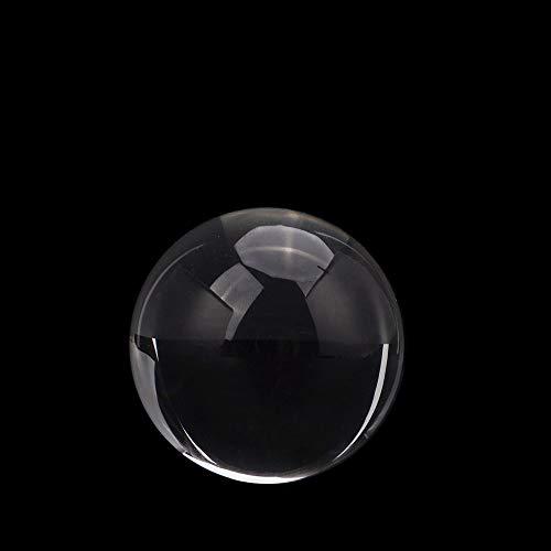 CROSYO 1pc 100mm Borra de Cristal Clear K9 for fotografía y adivinación y Boda y decoración de Oficina y Oficina (Color : Claro, tamaño : 100mm)