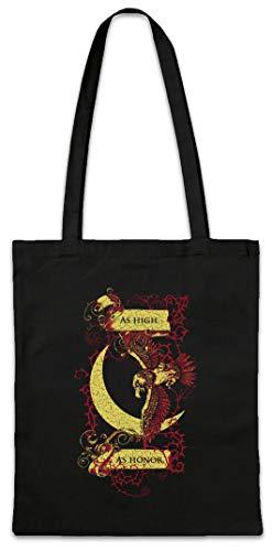 Urban Backwoods House Falcon Hipster Bag Beutel Stofftasche Einkaufstasche