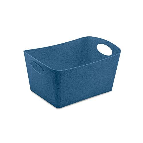 Koziol Aufbewahrungsbox Boxxx M, Box, Kiste, Korb, Aufbewahrung, Thermoplastischer Kunststoff, Organic Deep Blue, 3.5 L, 5744675