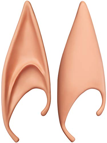 Balinco 2 Elfenohren Spitzohren Latex Ohren für Erwachsene Cosplay Halloween Karneval Fasching