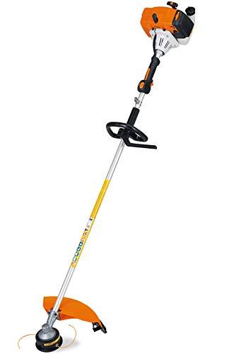 Stihl Desbrozadora FS120R, 30,8 cc, 1,3 kW/1,8 CV, peso 6,0 kg, para hierba Tenace con sistema antivibración