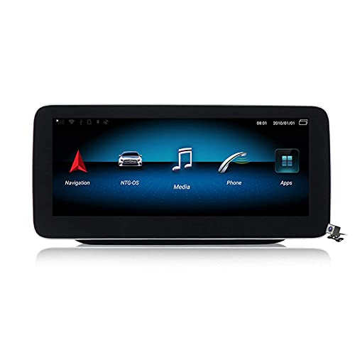 WYZXR GPS 10.25/12.5 inch Blu-ray Screen Android 10 Car Stereo for Mercedes Benz B Class W245 W246 2011-2019 Built in Carplay DSP Support Car Radio Multimedia CD DVD/GPS Navigation/SWC/BT