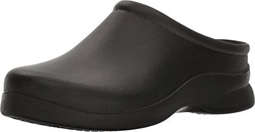 Klogs Footwear Men's Edge Closed Back Chef Clog Black