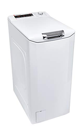 Hoover HNFLS G484TAH-84 Toplader Waschmaschine / 8 kg / 1400 U/Min / Inverter-Motor / Aquastop / NFC + WIFI-Technologie