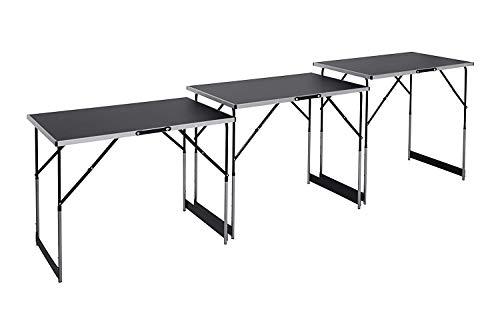 3 teiliger Multi-Funktionstisch, höhenverstellbar, Maße pro Tisch: 100 x 60 cm, variable Arbeitshöhe