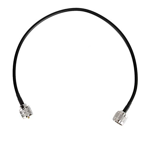 Cavo adattatore antenna Cavo antenna coassiale leggero e portatile, per radio bidirezionale Antenna CB per radioamatori mobili
