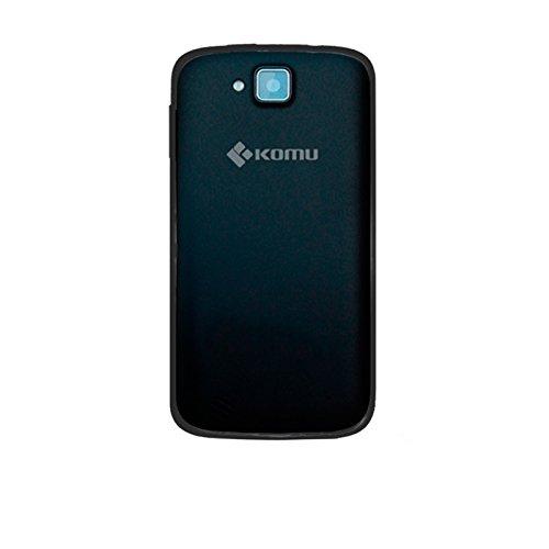 Cover custodia per Smartphone Komu Mini in silicone morbido Nero ORIGINALE KOMU