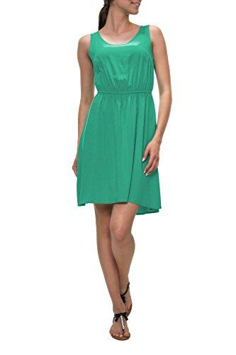 ONLY dames jurk zomerjurk vrijetijdsjurk effen kleuren basic