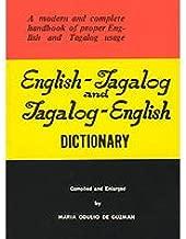 English Tagalog & Tagalog English Dictionary