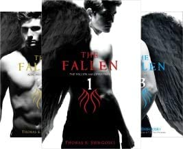 Sniegoski's 5-book series set FALLEN -- The Fallen and Leviathan / Aerie amd Reckoning / End of Days / Forsaken / Armageddon