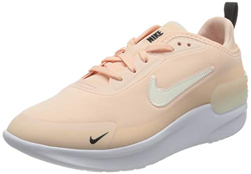 Nike Amixa, Sneaker Womens, Washed Coral/Pale Ivory-Black-White, 43 EU