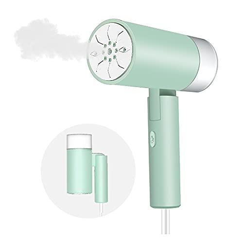 Dampfglätter Mini Dampfbürste Reisebügeleisen 1300W Garment Steamer mit 200 ml Austauschbarem Wassertank Geeignet, 20s Schnellem Erwärmung Dampfbügeleisen für Zuhause und Reisen